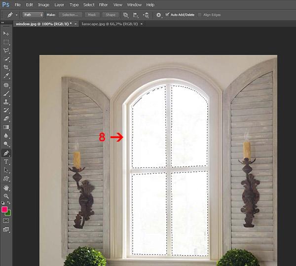 Как смешать две фотографии в фотошопе