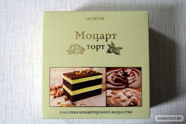 """Торт """"Моцарт La Creme"""" с фисташками"""