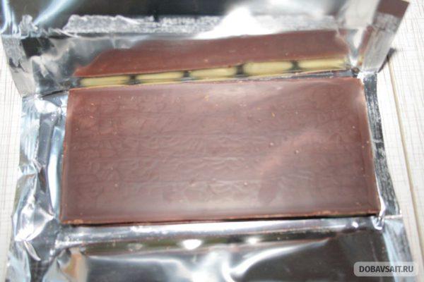 Обратная сторона шоколада