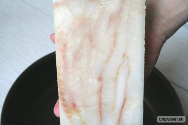 Внешний вид филе, внутри упаковки