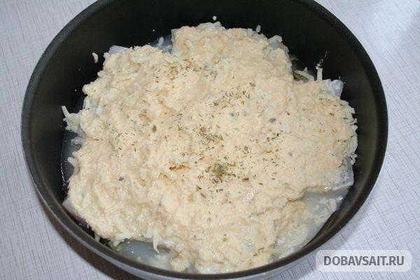 Филе, покрытое соусом